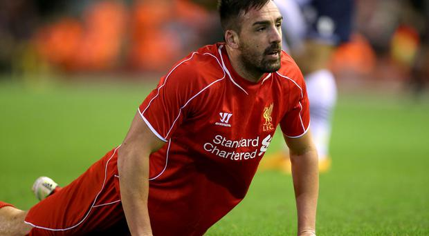 Liverpool's Jose Enrique