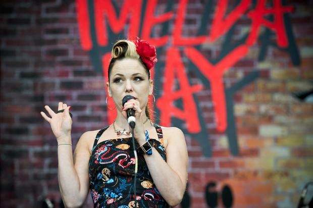 Imelda May is offering a scholarship in Dublin college BINM