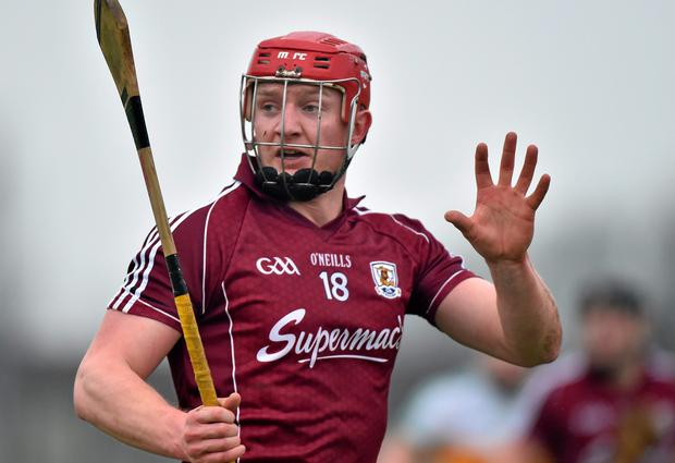 Galway's Joe Canning. Bord na Mona Walsh Cup Group 4, Round 3, Offaly v Galway, O'Connor Park, Tullamore, Co. Offaly