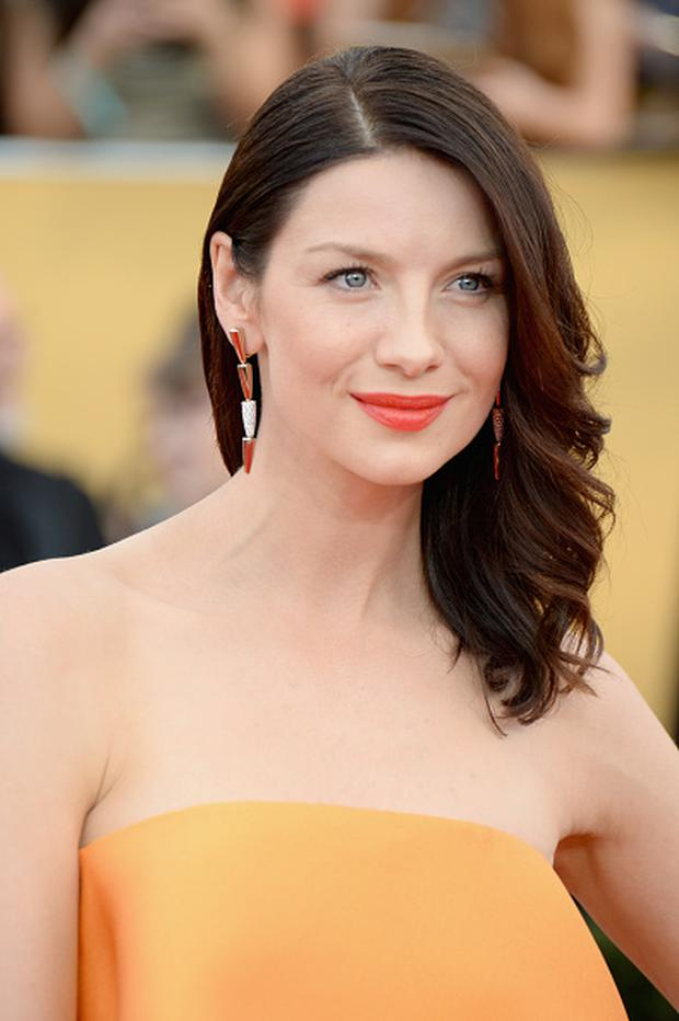 Actress Caitriona Balfe attends the 21st Annual Screen Actors Guild Awards at The Shrine Auditorium on January 25, 2015 in Los Angeles, California.