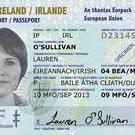 The five year card - the first of its kind in the world - will be made available from mid-July and will cost €35 Credit: Department of Foreign Affairs and Trade/PA Wire