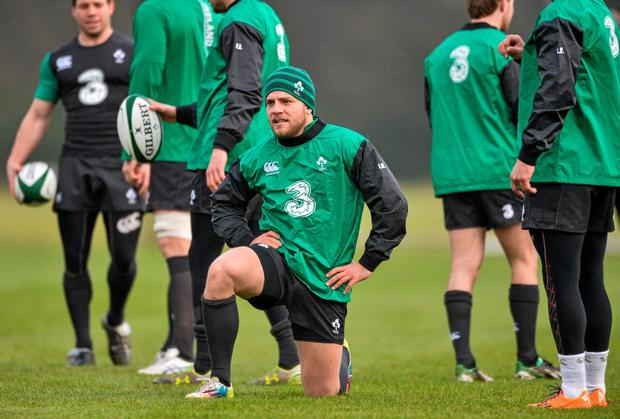 Ian Madigan will be given an immediate chance this Friday to recover from last weekend's kicking woes for Leinster. Photo: David Maher / SPORTSFILE