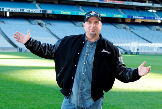 Garth Books was due to play five concerts at Croke Park in 2014