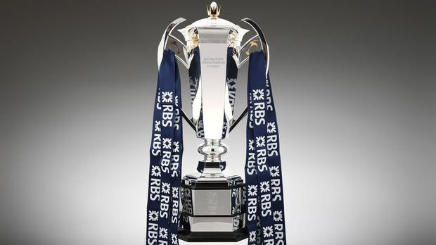 The new RBS Six Nations trophy