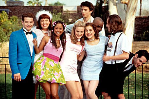 When the cast wore this to Mr Hall and Ms Geist's wedding and were easily the most stylish group at any wedding ever.