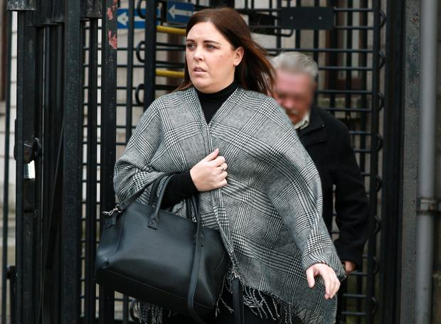 Gemma Conway, mother of Sam Conway Thornton, of Broombridge Road, Cabra West, Dublin Pic: Courts Collins