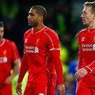 Liverpool dejected after Chelsea defeat