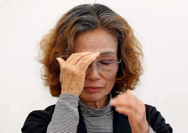 Junko Ishido, mother of Japanese hostage Kenji Goto made another appeal for his life to be spared yesterday