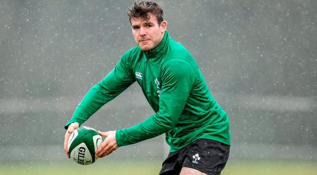 Gordon D'Arcy during squad training