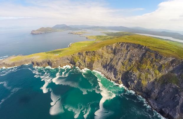 Geokaun view, Valentia Island. Photo: Raymond Fogarty/Fáilte Ireland