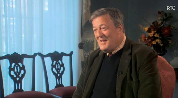 Stephen Fry on The Meaning of Life with Gay Byrne