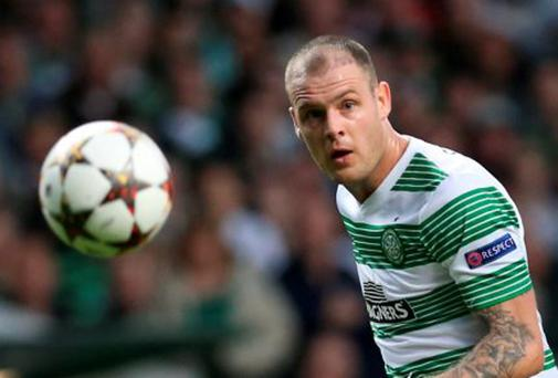 Celtic striker Anthony Stokes' future is in doubt