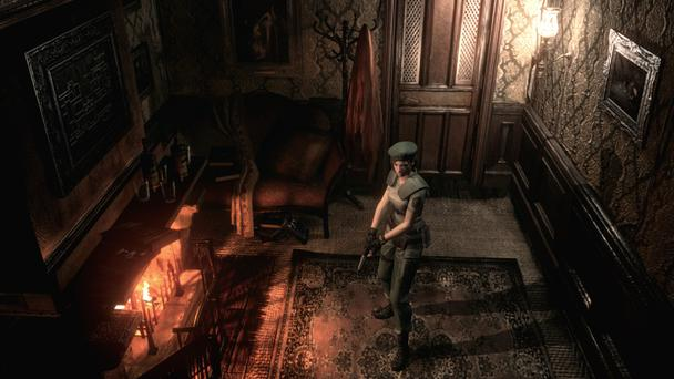 Resident Evil HD Remaster: Play as Jill Valentine or Chris Redfield