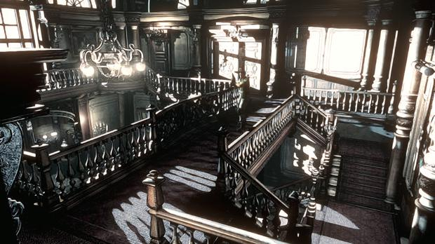 Resident Evil HD Remaster: The mansion was designed by a madman not an architect