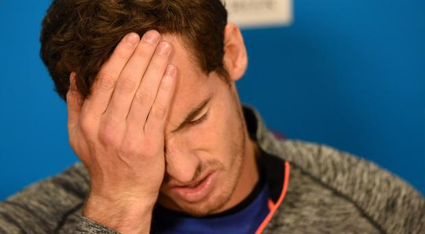 Andy Murray blamed himself after suffering more Melbourne misery at the hands of Novak Djokovic on Sunday, losing the pair's third Australian Open final with a dramatic late collapse.