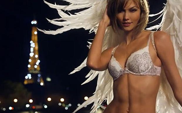 This year, Victoria's Secret Super Bowl commercial features Karlie Kloss.