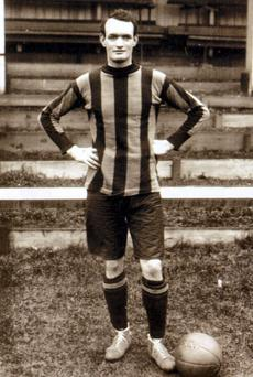 Patrick O'Connell in his playing days for Hull City