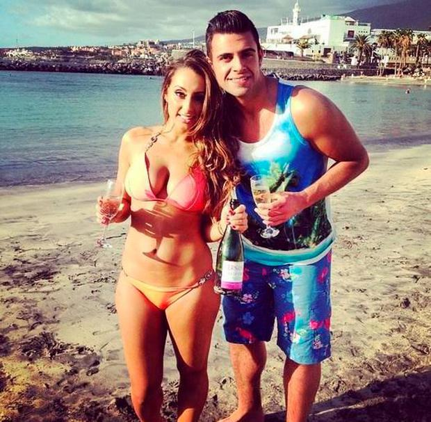 Karl Bowe and his 'Take Me Out' date Rachel Simmons. Pic Karl Bowe Twitter