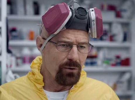 Bryan Cranston in the Super Bowl commercial