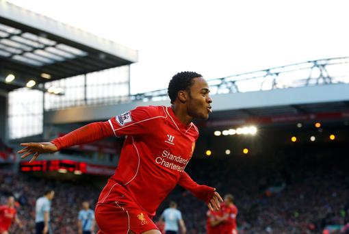 Raheem Sterling has been Liverpool's most creative player this season
