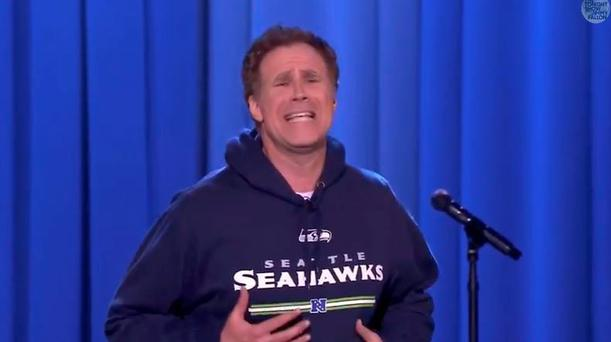 Will Ferrell lip syncs Beyonce's Drunk in Love on Jimmy Fallon