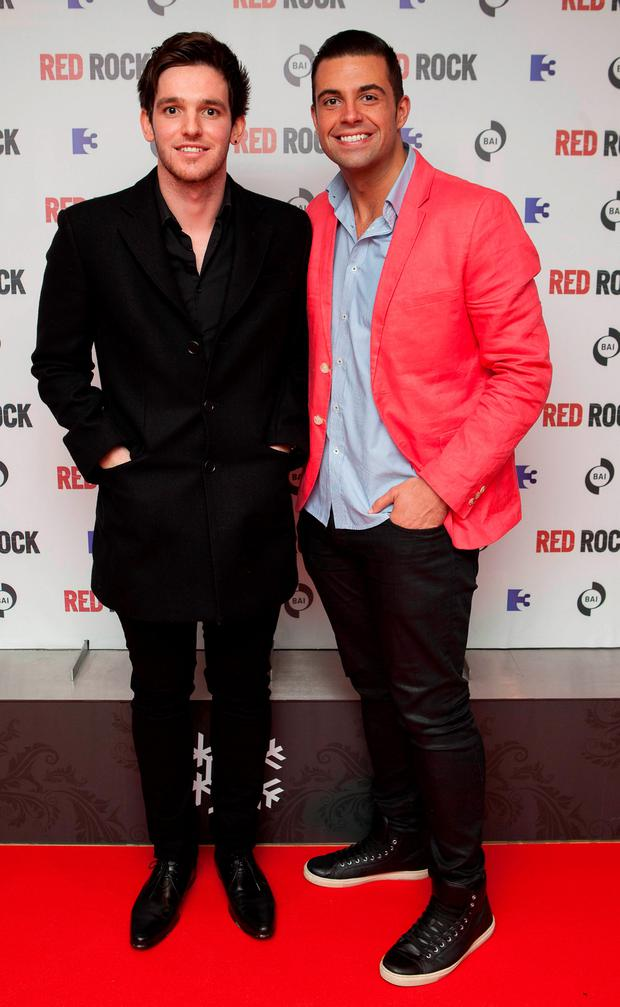 Karl Bowe and fellow Red Rock cast member Adam Weafer