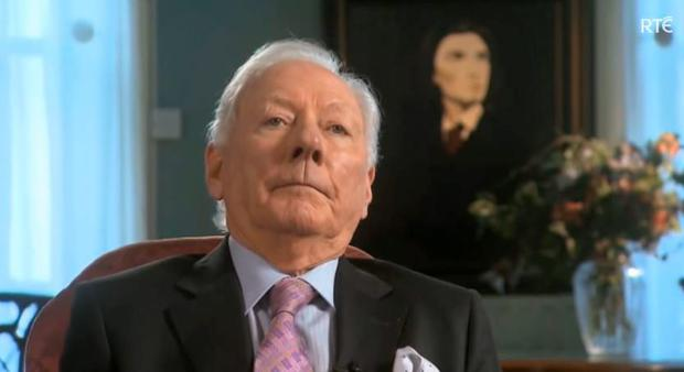 Gay Byrne reacts to Stephen Fry on The Meaning of Life