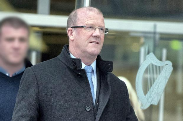 Noel Hayes at Dublin Circuit Criminal Court where he has been acquitted of forging a will. Pic: Collins Courts.