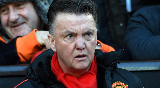 Louis Van Gaal has his sights firmly set on Manchester United winning the FA Cup. Photo: PAUL ELLIS/AFP/Getty Images