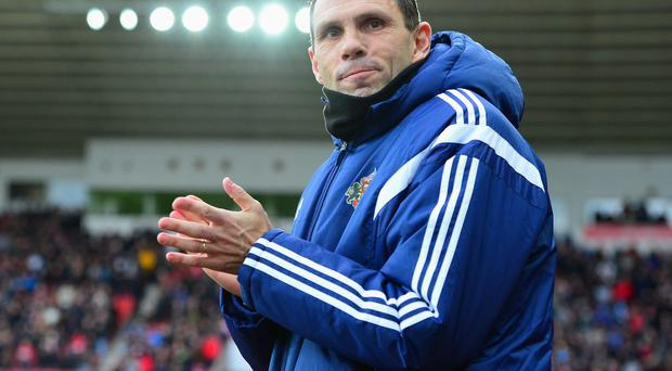 Gustavo Poyet seems certain to make changes for Sunderland's FA Cup replay against Fulham. Photo: Mark Runnacles/Getty Images
