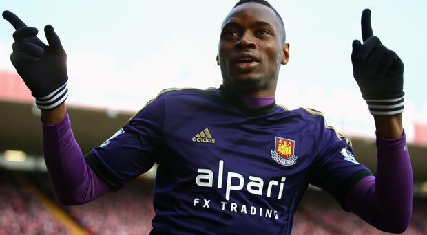 FIFA is investigating Senegal's complaint after Diafra Sakho played and scored the winner in West Ham United's fourth-round match despite being unavailable for the Africa Cup of Nations. Photo: Paul Gilham/Getty Images