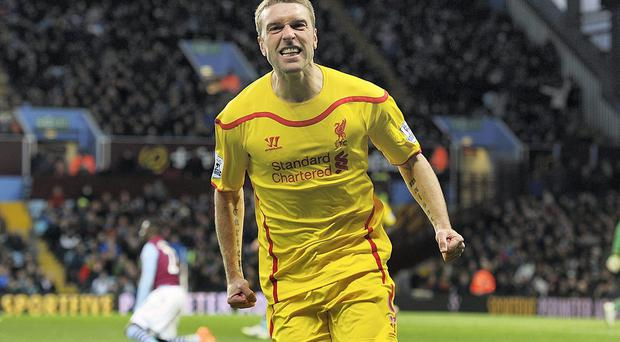 Rickie Lambert almost joined Aston Villa in January