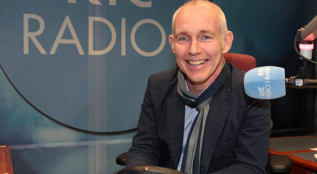 Ray Darcy pictured as he started his new afternoon show on Rte Radio 1 at the Rte Radio Centre in Donnybrook