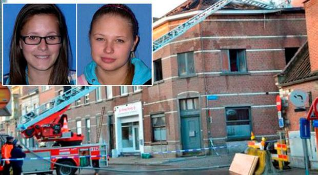 Dace Zarina and Sara Gibadio died in a fire in their accommodation in Leuven