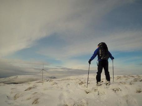 Independent.ie reader Bren Whelan sent us this snowy snap, writing; 'It was good enough 4 snowshoes y'terday in #Inishowen #donegal Maybe be good for skis 2day?!'