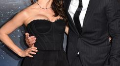Actors Mila Kunis and Channing Tatum attend the premiere of Warner Bros. Pictures'
