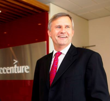 Accenture country managing director, Alastair Blair.