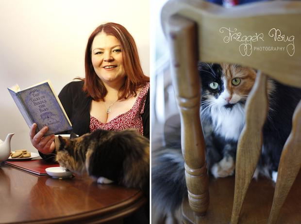 Georgina O'Neill plans to open Dublin's first cat cafe. Photo by Trigger Bug Photography