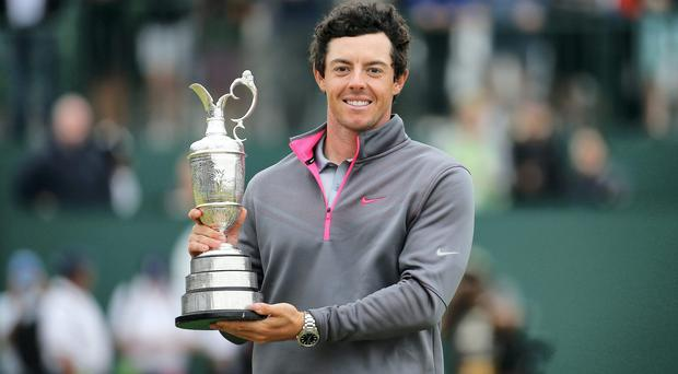 From 2017 golf fans hoping to see Rory McIlroy replicate last year's Open success will have to do so on pay-per-view TV. Photo: Tom Pennington/Getty Images