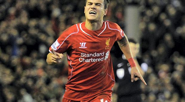 Philippe Coutinho has agreed a new long-term contract with Liverpool. Photo: John Powell/Liverpool FC via Getty Images