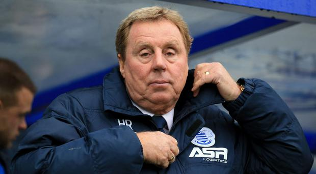 Harry Redknapp has quit as manager of QPR. Photo: Nigel French/PA Wire