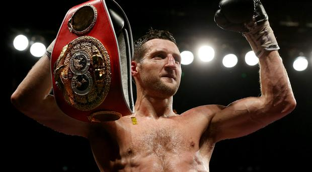 Froch, whose last bout was his memorable knockout of George Groves last May, looked set to fight Chavez on March 28 but an elbow injury scuppered his hopes.
