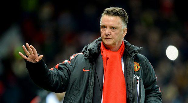 Manchester United manager Louis van Gaal during the FA Cup, Fourth Round replay at Old Trafford, Manchester