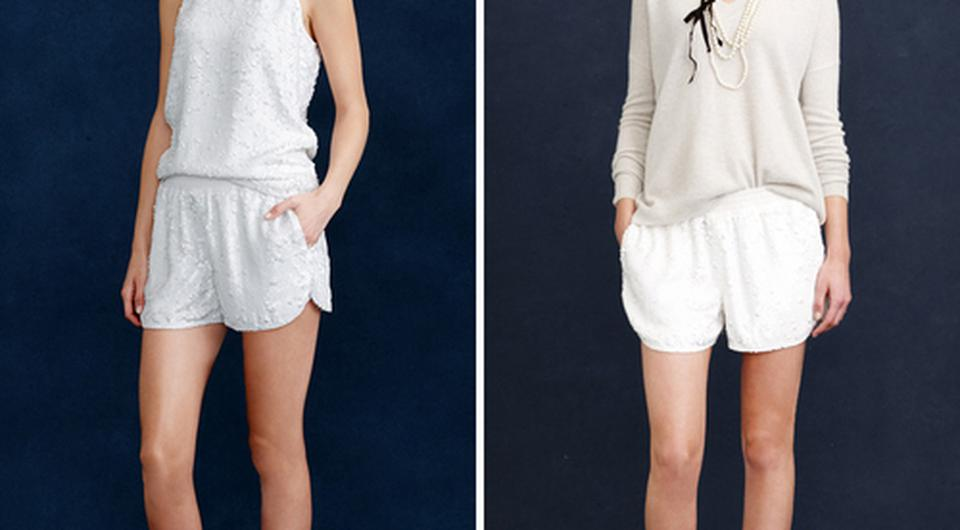 Two styles from the J. Crew S/S '15 Bridal Lookbook