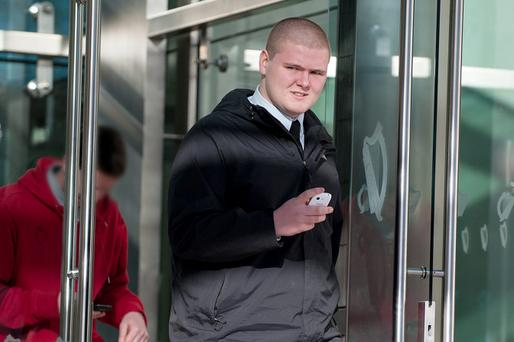 Cian Johnston (19), of Pembroke Cottages, Ringsend, pleaded guilty at Dublin Circuit Criminal Court to possession of ecstasy tablets on August 28, 2014. Pic: Collins Courts