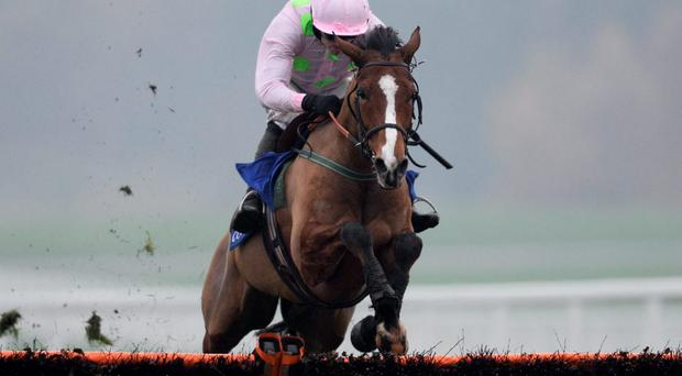 Faugheen and Ruby Walsh on their way to victory