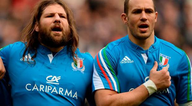 Once again, Italy will look to Martin Castrogiovanni and Sergio Parisse for inspiration in Rome