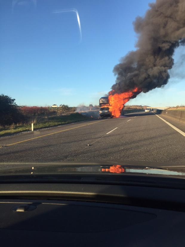 The scene on the M8