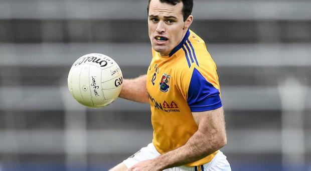 'Paul Barden becomes the latest candidate for a place on a team made up of the best footballers never to win an All-Ireland medal.' Photo: Stephen McCarthy / SPORTSFILE