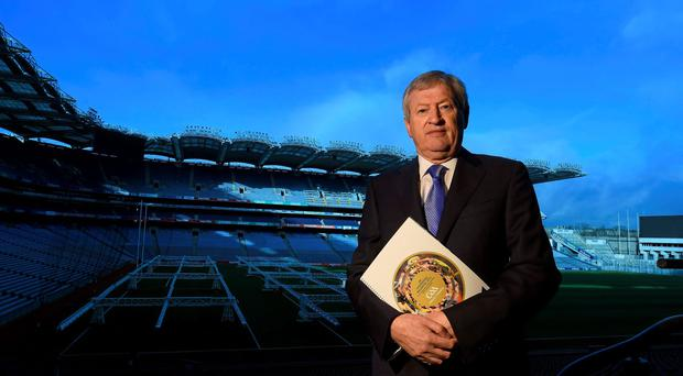 GAA director-general Paraic Duffy said that Dublin's huge population had to be taken into account when allocating funds. Photo: Paul Mohan / SPORTSFILE